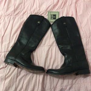 FRYE Melissa Button Lug Tall Boots